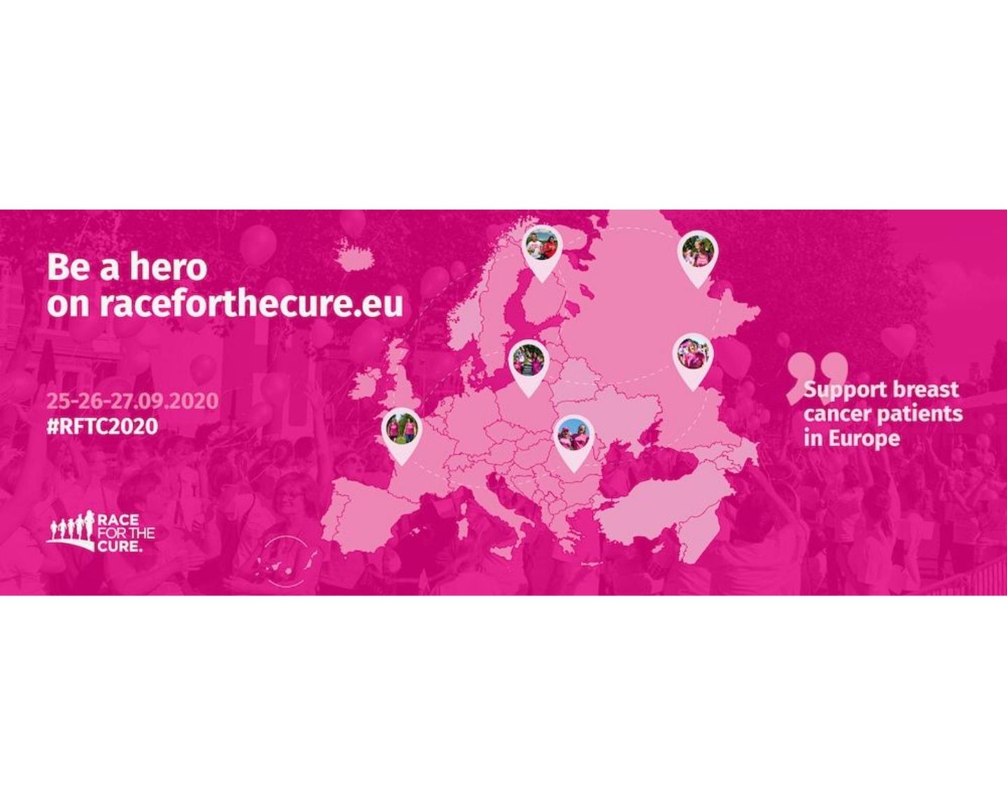 Help make Race for the Cure® 2020 the biggest sporting event ever