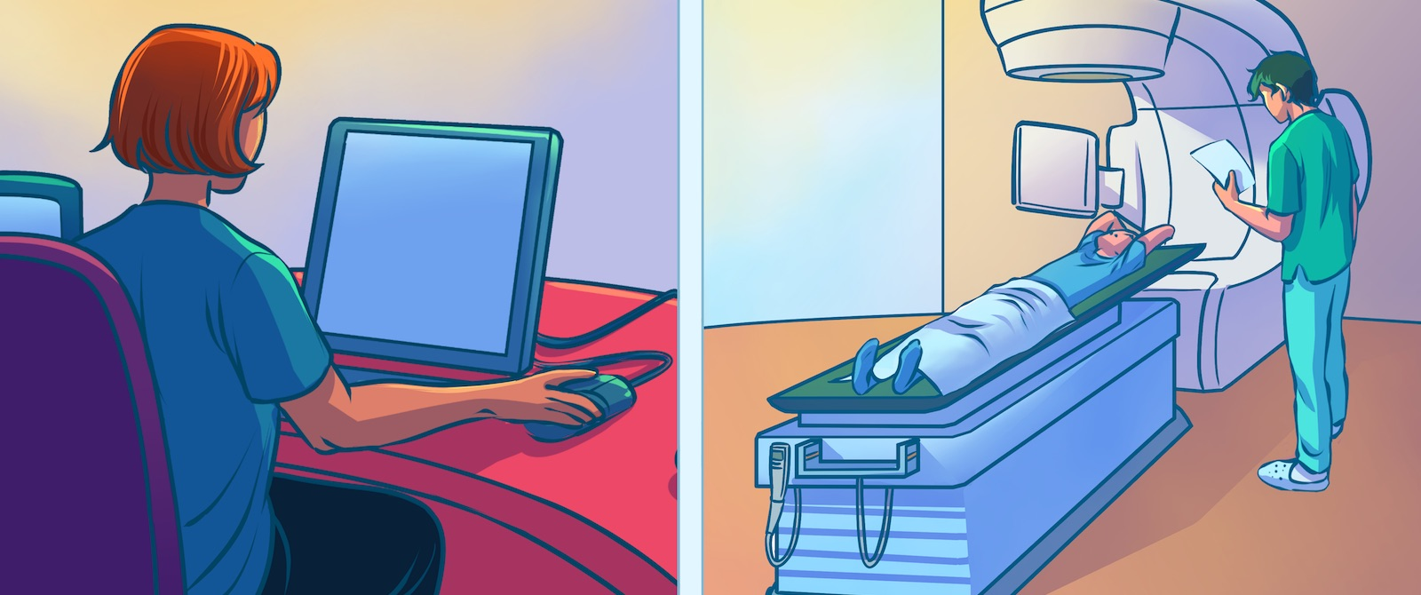 Their fingers on the button: why neglecting radiation therapists is no longer an option