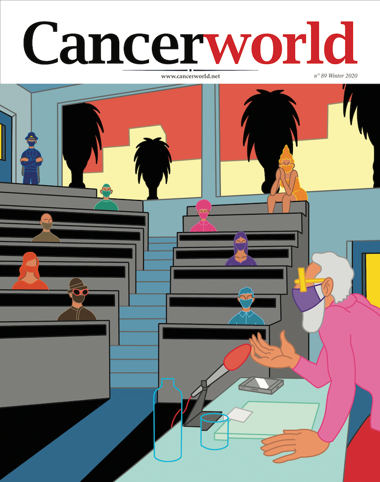 Adriana Albini, editor in chief, presents Cancer World issue 89