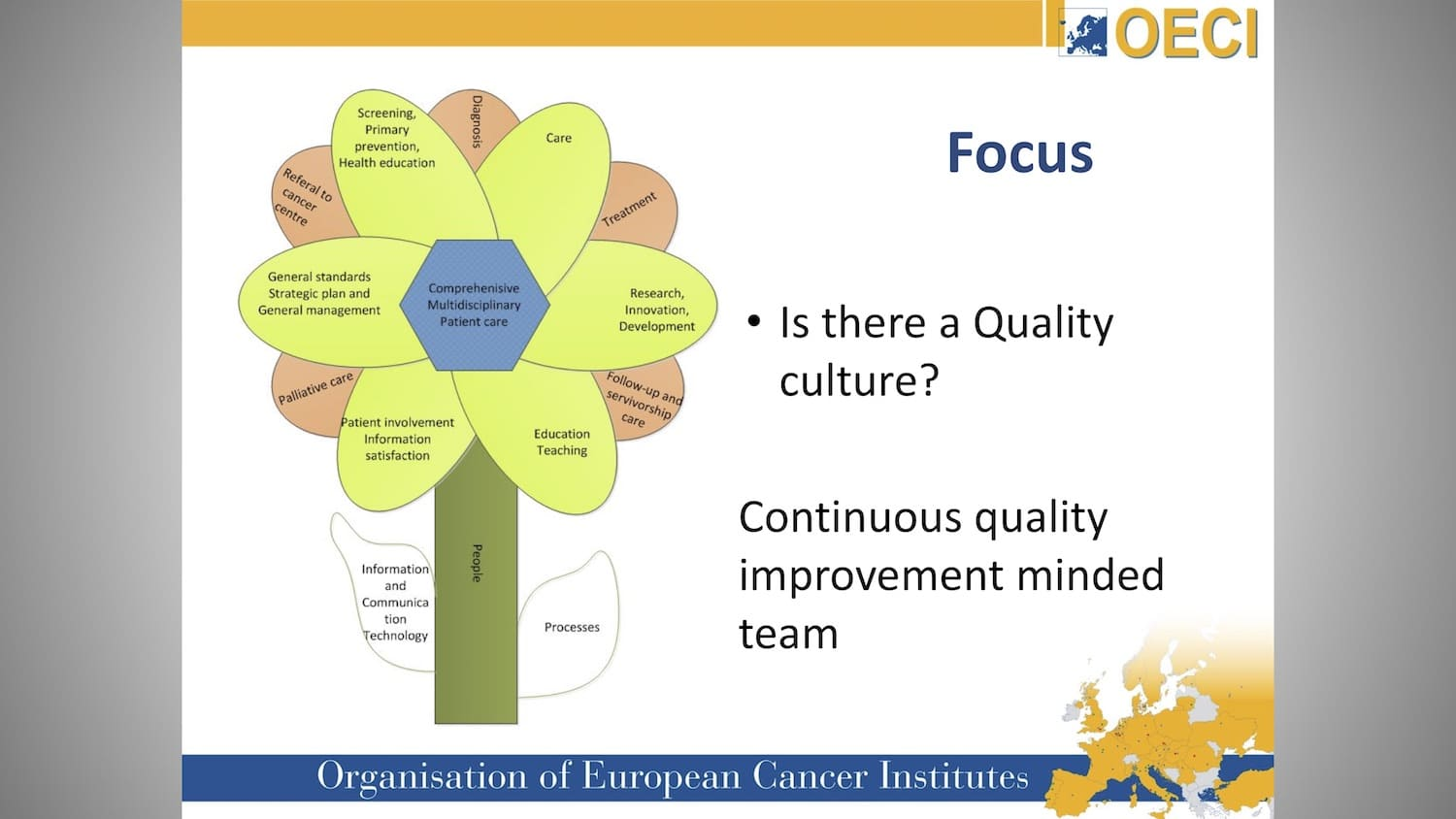 Optimisation and Efficiency in Cancer Care