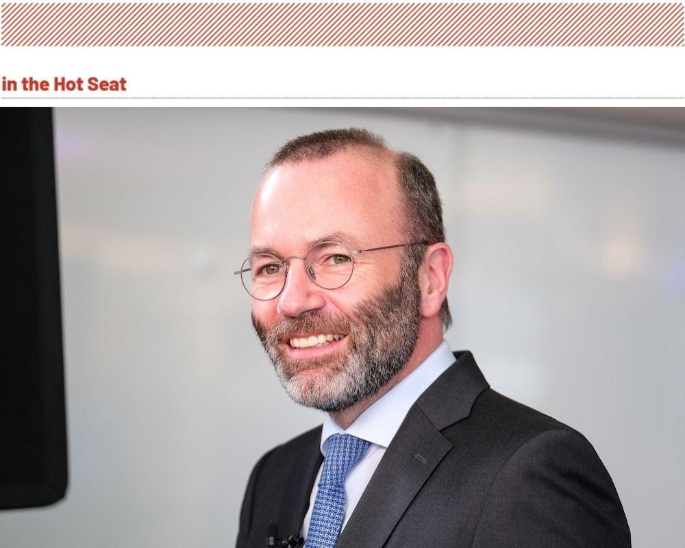 Manfred Weber – chair of the European Parliament EPP group